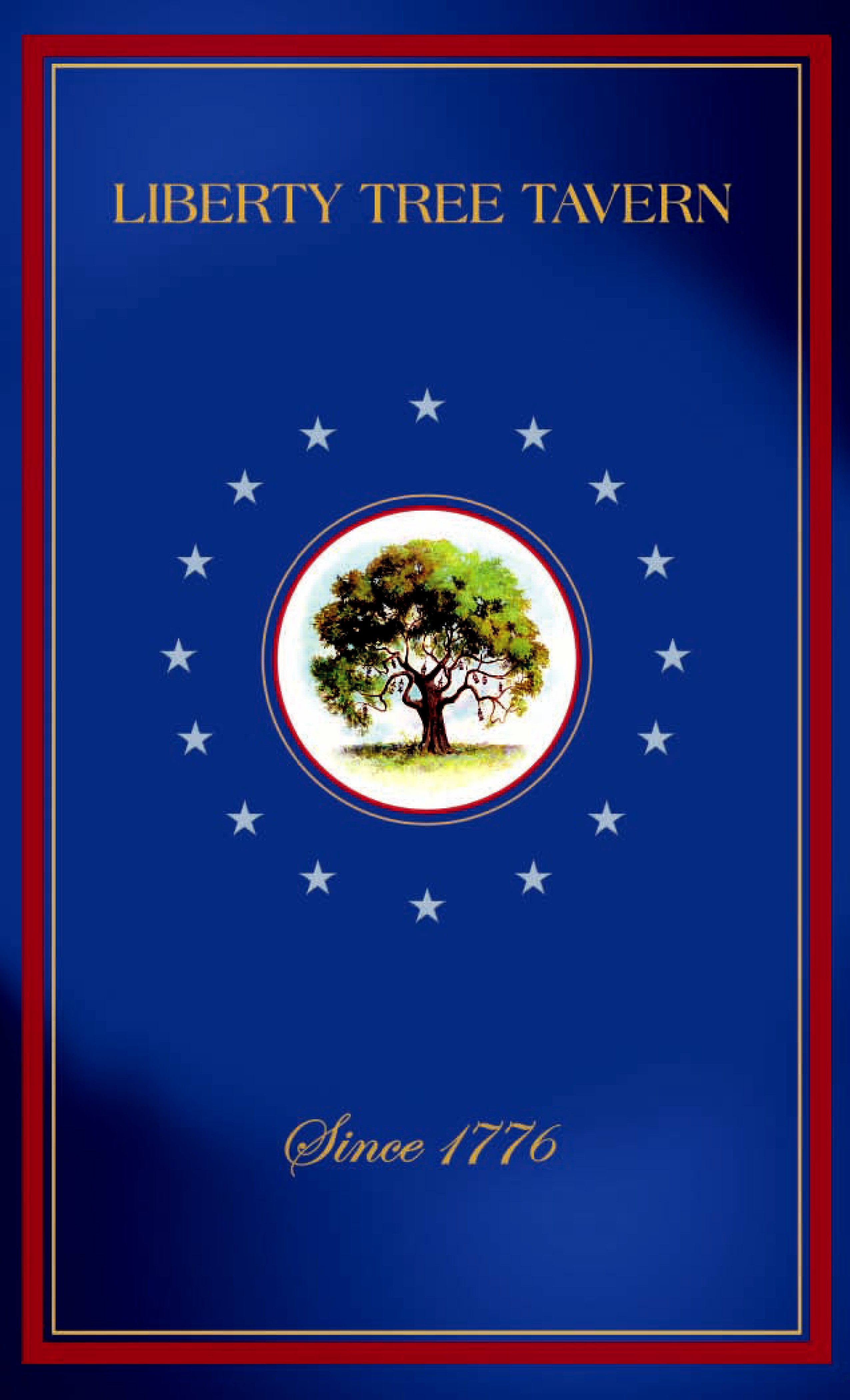 Menu Liberty Tree Tavern Disneys Magic Kingdom