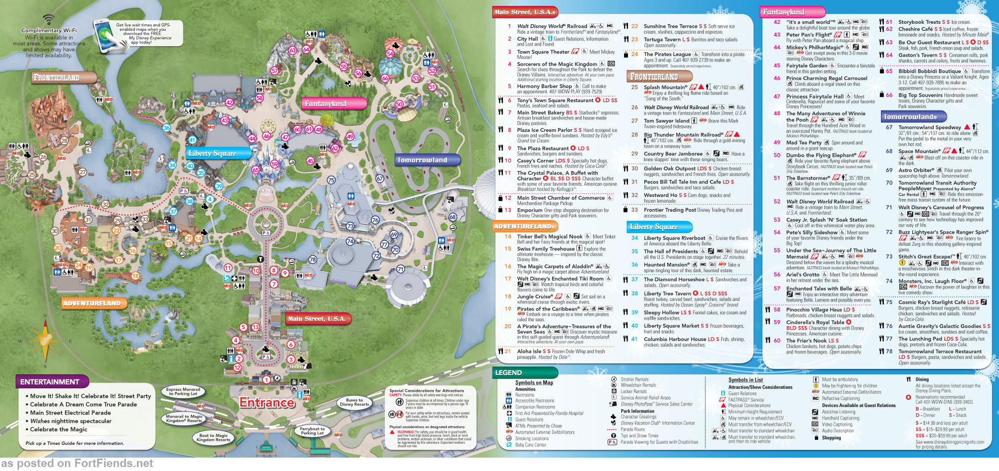 ... Magic Kingdom Map 2015. View Original . [Updated on 12/25/2015 at 07